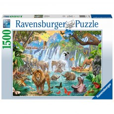 Ravensburger 1500 Piece Puzzle - Waterfall Safari