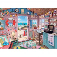Ravensburger 1000 Piece Puzzle - My Haven No. 7 - The Beach Hut