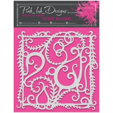 Pink Ink Designs - 8 x 8 inch Stencil - Tulip Bloom