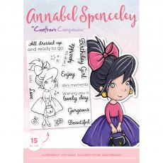 Annabel Spenceley Photopolymer Stamp - All Dressed Up