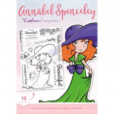 Annabel Spenceley Photopolymer Stamp - Lovely Lady
