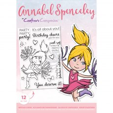 Annabel Spenceley Photopolymer Stamp - Birthday Cheers