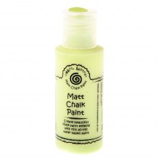 Cosmic Shimmer Matt Chalk Paint - Citron