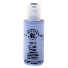 Cosmic Shimmer Matt Chalk Paint - Iris Blue