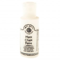 Cosmic Shimmer Matt Chalk Paint - Warm White