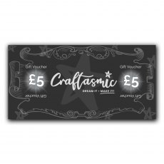 Craftasmic Online £5 Gift Voucher