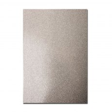 Glitter Card A4 Card Pack - Silver (5 Sheets)