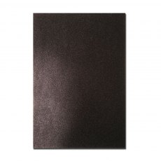 Glitter Card A4 Card Pack - Black (5 Sheets)
