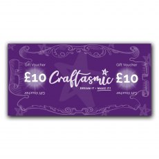 Craftasmic Online £10 Gift Voucher