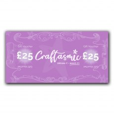 Craftasmic Online £25 Gift Voucher