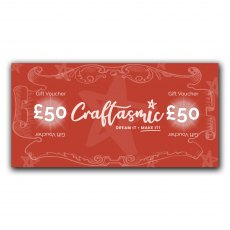 Craftasmic Online £50 Gift Voucher
