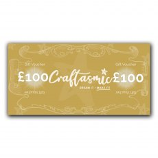 Craftasmic Online £100 Gift Voucher