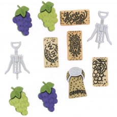 Dress It Up Embellishments - Uncorked