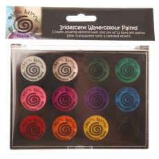 Cosmic Shimmer Iridescent Watercolour Paint Set 2 - Carnival Brights
