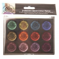 Cosmic Shimmer Iridescent Watercolour Paint Set 6 - Antique Shades