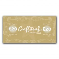 Craftasmic Online £20 Gift Voucher