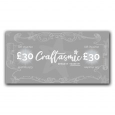 Craftasmic Online £30 Gift Voucher