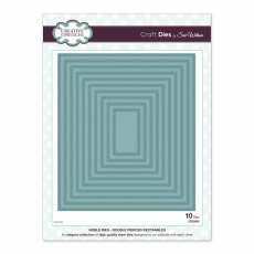 Sue Wilson Craft Dies - Noble Collection - Double Pierced Rectangles