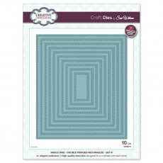 Sue Wilson Craft Dies - Noble Collection - Double Pierced Rectangles Set B