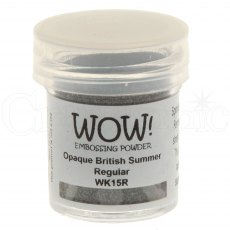 Wow Embossing Powder 15 ml Opaque British Summer - Regular