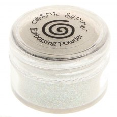 Cosmic Shimmer Brilliant Sparkle Embossing Powder - Snow Cap