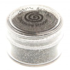 Cosmic Shimmer Brilliant Sparkle Embossing Powder - Black  Mirage