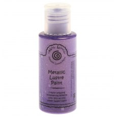 Cosmic Shimmer Metallic Lustre Paint - Purple Anemone