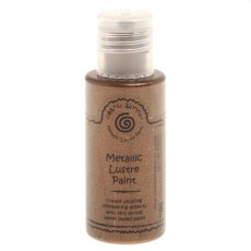 Cosmic Shimmer Metallic Lustre Paint - Chocolate Gold