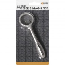 Lighted Tweezer & Magnifier