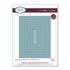 Sue Wilson Craft Dies - Noble Collection - Double Pierced Background Rectangle