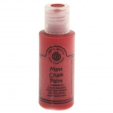 Cosmic Shimmer Matt Chalk Paint - Red Velvet