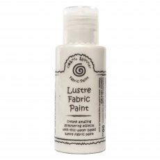 Cosmic Shimmer Lustre Fabric Paint - French Pearl