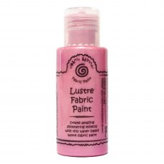 Cosmic Shimmer Lustre Fabric Paint - Moroccan Rose