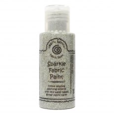 Cosmic Shimmer Sparkle Fabric Paint - Old Gold