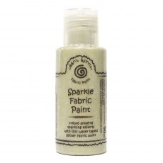 Cosmic Shimmer Sparkle Fabric Paint - Sunlight Gold