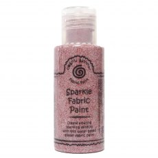 Cosmic Shimmer Sparkle Fabric Paint - Ruby Red