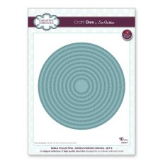 Sue Wilson Craft Dies - Noble Collection - Double Pierced Circles - Set B