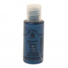 Cosmic Shimmer Fabric Paint - Petrol Blue