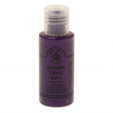 Cosmic Shimmer Fabric Paint - Imperial Purple