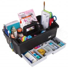 Artbin Craft Caddy - Black/Grey
