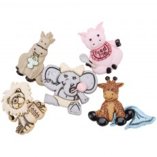 Dress It Up Embellishments - Cute & Cuddly