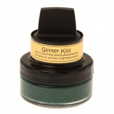 Cosmic Shimmer Glitter Kiss - Hunter Green