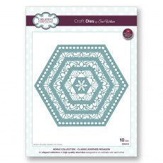 Sue Wilson Craft Dies - Noble Collection - Classic Adorned Hexagon