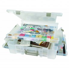 Artbin Super Satchel Deluxe - Divided Lid - 1 Compartment Base
