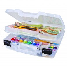 Artbin 15 inch Quick View Carrying Case - Divided Base with Lift Out Tray