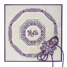 Sue Wilson Craft Dies - Noble Collection - Classic Adorned Octagon