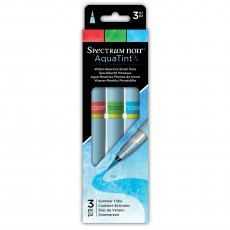 Spectrum Noir Aquatint Brush Pens - Summer Time (3 pack)