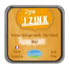 Izink Dye Ink Pad - Honey (Miel) 5 x 5 cm