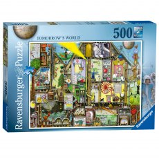 Ravensburger 500 Piece Puzzle - Tomorrow's World