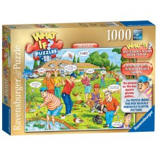 Ravensburger 1000 Piece Puzzle - WHAT IF? No. 18 Fantasy Golf